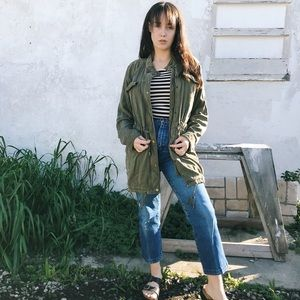 Lucky Brand Olive Green Jacket